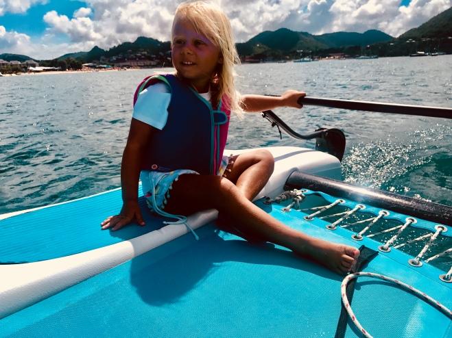 Hobie sailing Rodney Bay