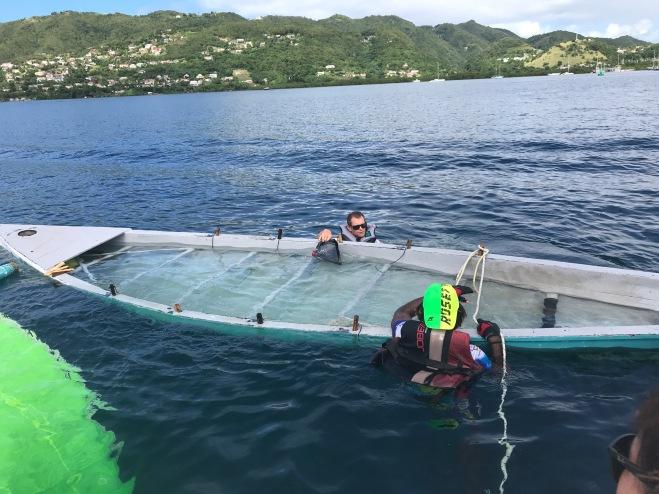 Nearly sunk!!